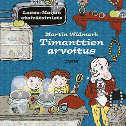 Widmark, Martin - Timanttien arvoitus: Lasse-Maijan etsivätoimisto, äänikirja