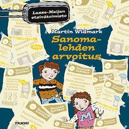 Widmark, Martin - Sanomalehden arvoitus: Lasse-Maijan etsivätoimisto, äänikirja