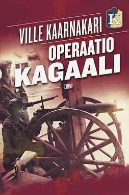 Kaarnakari, Ville - Operaatio Kagaali, e-kirja