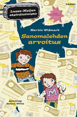 Widmark, Martin - Sanomalehden arvoitus: Lasse-Maijan etsivätoimisto, e-kirja