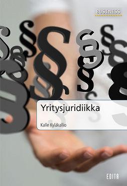 Kyläkallio, Kalle - Yritysjuridiikka, e-kirja