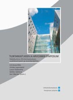 Kihn, Lili-Anne - Tilintarkastuksen ja arvioinnin symposium, e-kirja