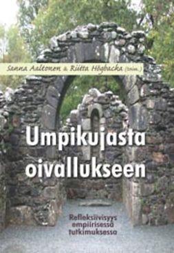 Aaltonen, Sanna - Umpikujasta oivallukseen, e-kirja