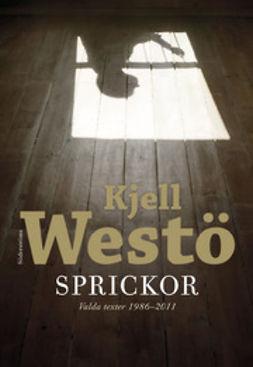 Westö, Kjell - Sprickor: valda texter 1986-2011, e-bok