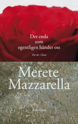 Mazzarella, Merete - Det enda som egentligen händer oss: Ett år i livet, ebook