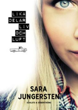 Jungersten, Sara - Lika delar liv och luft, ebook