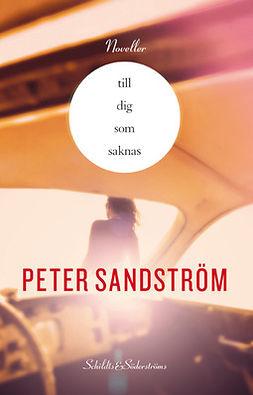 Sandström, Peter - Till dig som saknas, e-bok