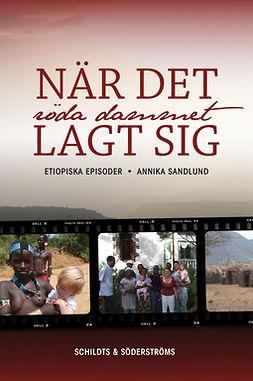 Sandlund, Annika - När det röda dammet lagt sig: etiopiska episoder, ebook