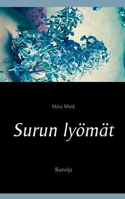 Mink, Mira - Surun lyömät: Runoja, e-kirja