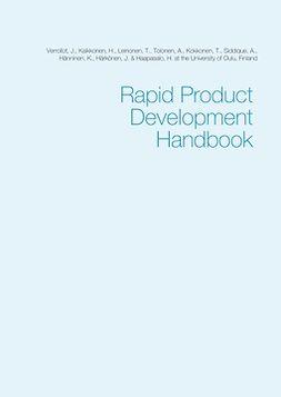 Finland, University of Oulu - Rapid Product Development Handbook, ebook