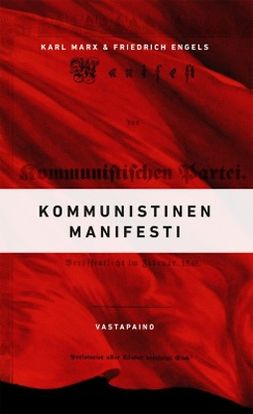 Marx, Karl - Kommunistinen manifesti, e-kirja