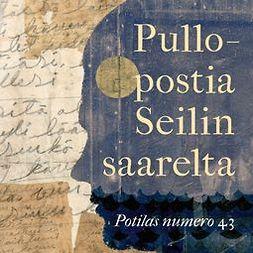 Heikkinen, Susan - Pullopostia Seilin saarelta: Potilas numero 43, äänikirja