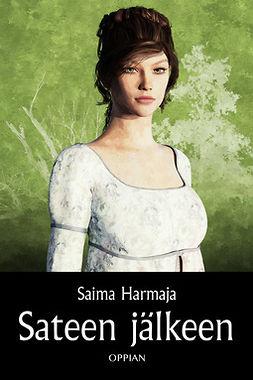 Harmaja, Saima - Sateen jälkeen, e-kirja