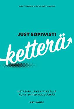 Niemi, Antti - Just sopivasti ketterä: Ketterällä kehityksellä kohti parempaa elämää, e-kirja