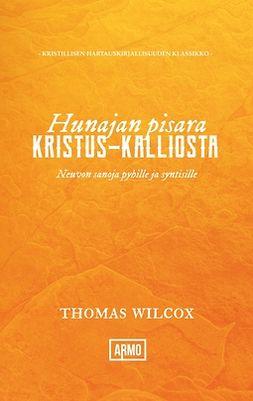 Wilcox, Thomas - Hunajan pisara Kristus-kalliosta: Neuvon sanoja pyhille ja syntisille, e-kirja