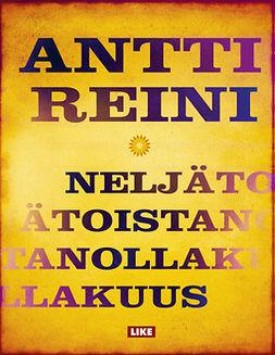 Reini, Antti - Neljätoistanollakuus, e-kirja