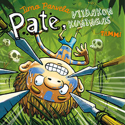 Parvela, Timo - Pate, viidakon kuningas, äänikirja