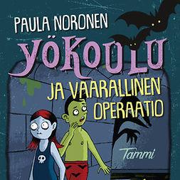 Noronen, Paula - Yökoulu ja vaarallinen operaatio: -, audiobook