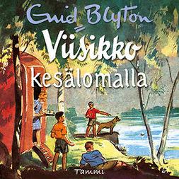Blyton, Enid - Viisikko kesälomalla, audiobook