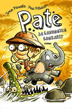 Parvela, Timo - Pate ja savannien sankarit, e-kirja