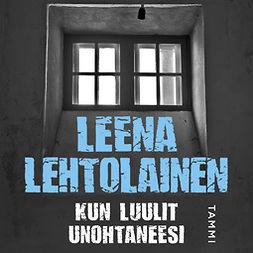 Lehtolainen, Leena - Kun luulit unohtaneesi, äänikirja