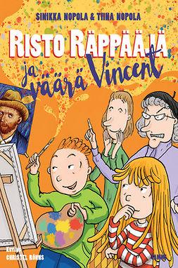 Nopola, Sinikka - Risto Räppääjä ja väärä Vincent, e-kirja