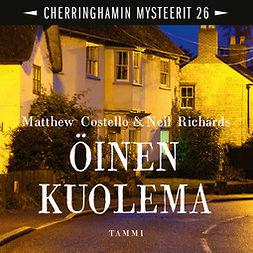 Costello, Matthew - Öinen kuolema: Cherringhamin mysteerit 26, audiobook