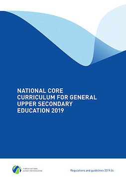 - National Core Curriculum for General Upper Secondary Education 2019, e-bok