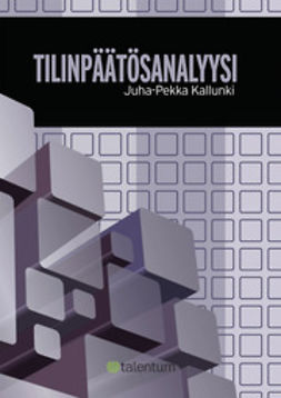 Kallunki, Juha-Pekka - Tilinpäätösanalyysi, e-kirja