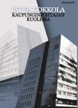 Kokkola, Ritva - Kaupunginjohtajan kuolema, e-kirja