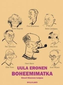 Eronen, Uula - Boheemimatka, e-kirja