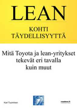 Tuominen, Kari - Lean - kohti täydellisyyttä, e-kirja