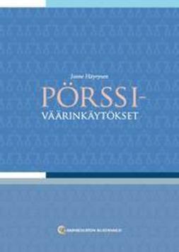 Häyrynen, Janne - Pörssiväärinkäytökset, e-kirja