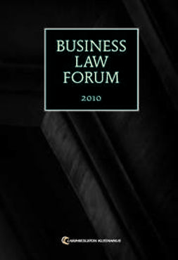 Kallio, Ilari - Business Law Forum 2010, ebook