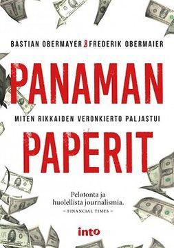 Obermaier, Frederik - Panaman paperit, e-kirja