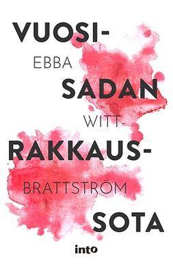 Nikula, Ebba Witt-Brattström; Jaana - Vuosisadan rakkaussota, e-kirja