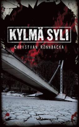 Rönnbacka, Christian - Kylmä syli, e-kirja