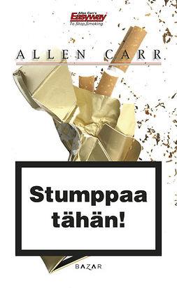 Carr, Allen - Stumppaa tähän!, e-kirja
