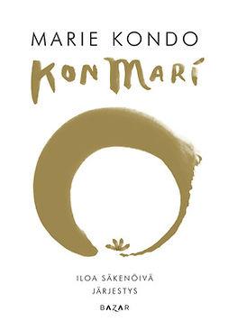 Kondo, Marie - KonMari - Iloa säkenöivä järjestys, e-kirja