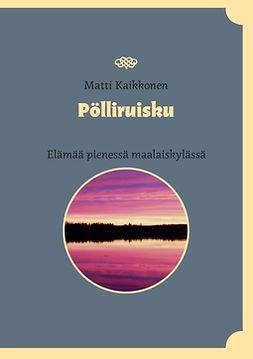 Kaikkonen, Matti - Pölliruisku: Elämää pienessä maalaiskylässä, e-kirja