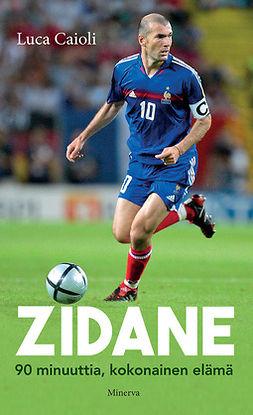 Caioli, Luca - Zidane: 90 minuuttia, kokonainen elämä, ebook