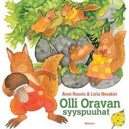 Hyvärinen, Anne - Olli-Oravan syyspuuhat, e-kirja