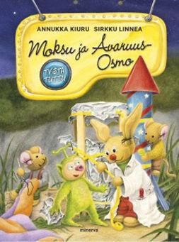 Kiuru, Annukka - Moksu ja Avaruus-Osmo, e-bok