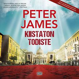 James, Peter - Kiistaton todiste, audiobook