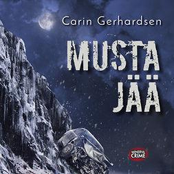 Gerhardsen, Carin - Musta jää, audiobook