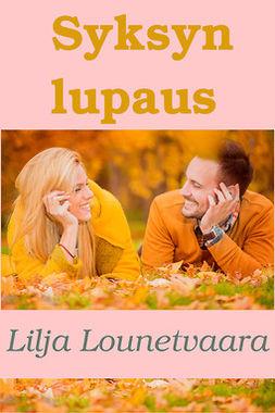 Lounetvaara, Lilja - Syksyn lupaus, e-kirja