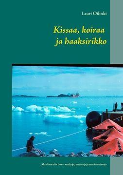 Oilinki, Lauri - Kissaa, koiraa ja haaksirikko: Maailma niin lavea, matkoja, muistoja ja matkamuistoja, e-kirja