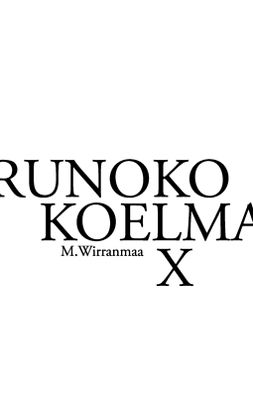 Wirranmaa, Mikael - Runokokoelma X, e-kirja