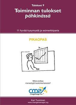 Tuominen, Kari - Avaintulokset pähkinässä -  9, ebook