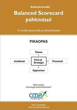 Tuominen, Kari - Balanced scorecard pähkinässä, ebook
